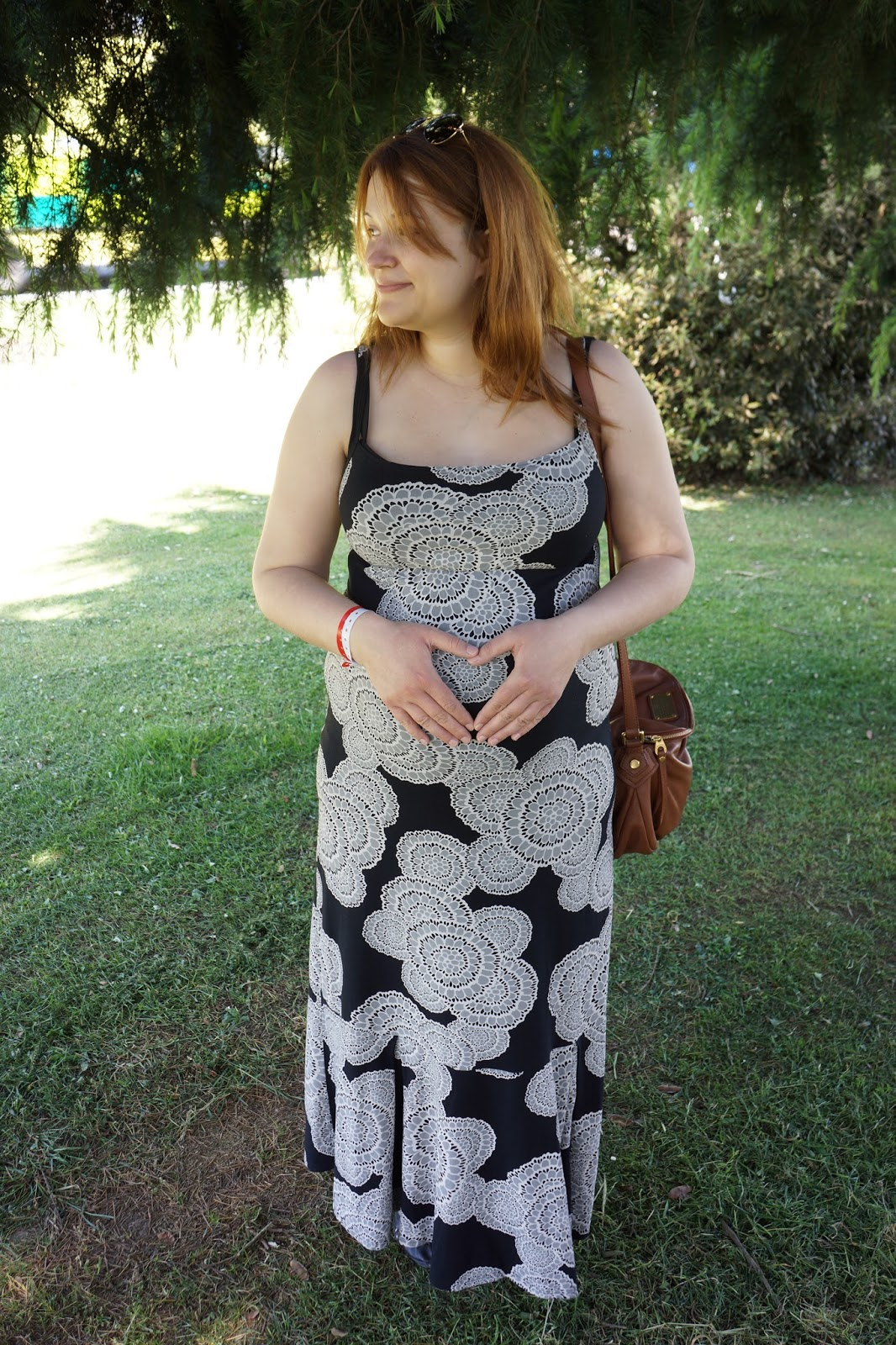 wearing a nanso maxi dress