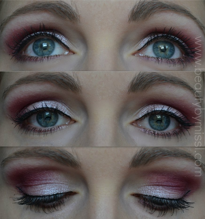 Vivo Cosmetics Enchanted eye shadow palette, eye makeup look, eotd, eyes of the day