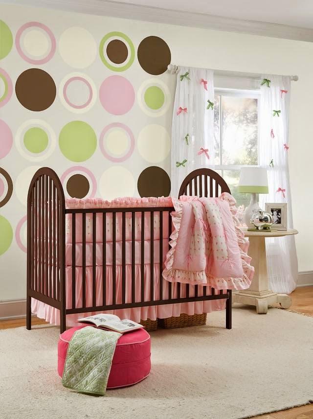Dormitorio para beb ni a ideas para decorar dormitorios - Habitaciones para bebe nina ...