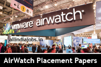 AirWatch Placement Papers