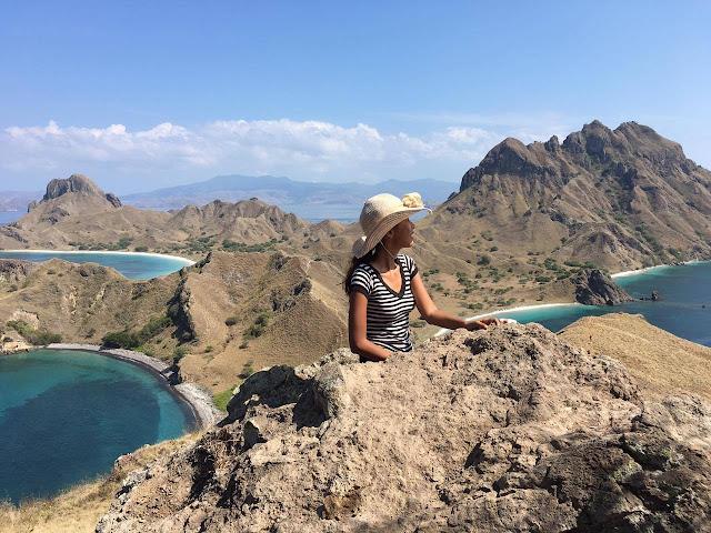 padar island in bali indonesia