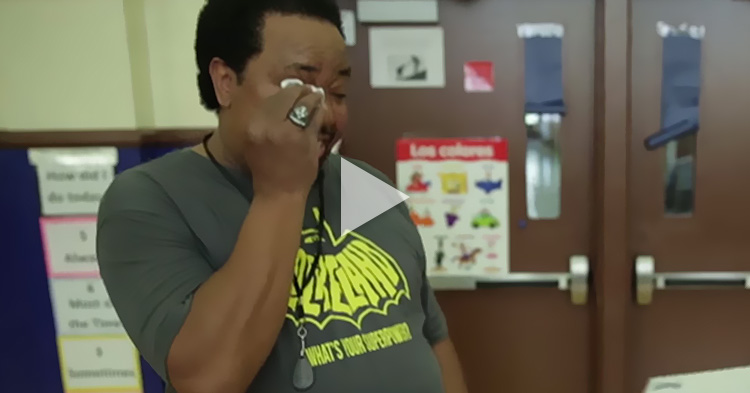 A Janitor was called to clean up a big surprise, this is very heartwarming