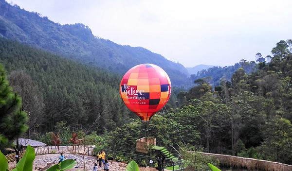 objek wisata di The Lodge Maribaya Lembang