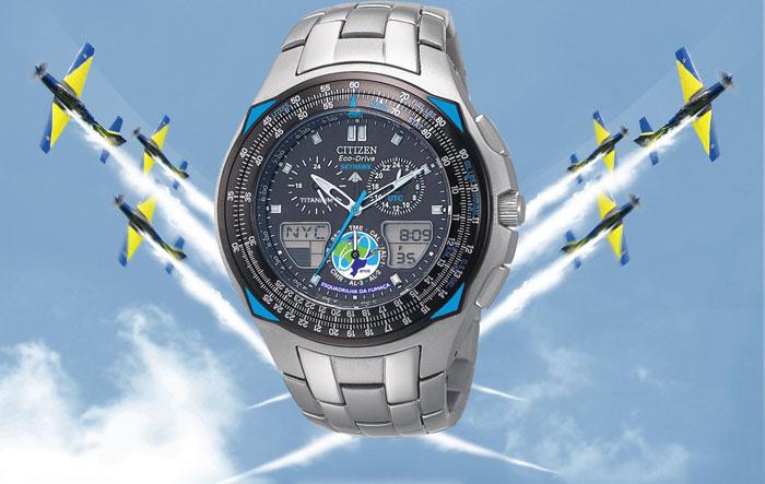 4d26ce7e331 Relógio Citizen Promaster Titânio Esquadrilha da Fumaça JR3091-55E ...