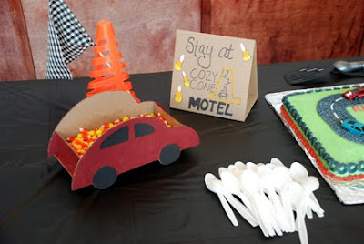 cardboard car cozy cone motel Cars