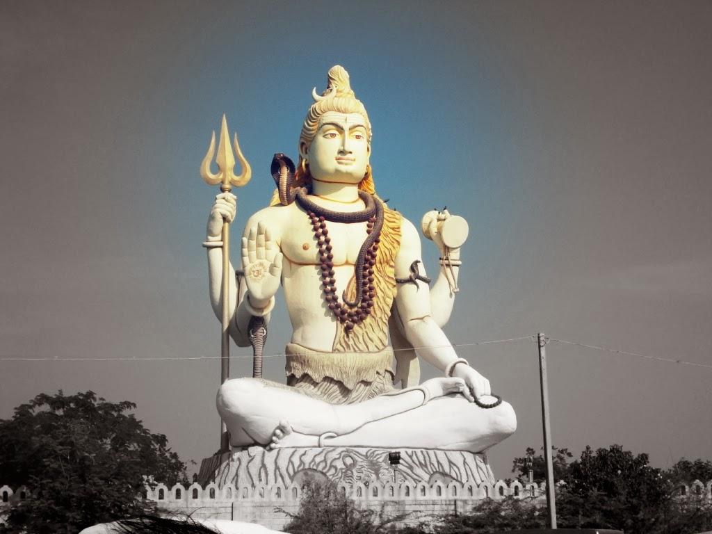 Shiva statue, Nageshwar