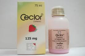شراب سيكلور Ceclor مضاد حيوي