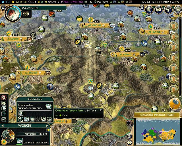 Inca Terrace | Civilization 5