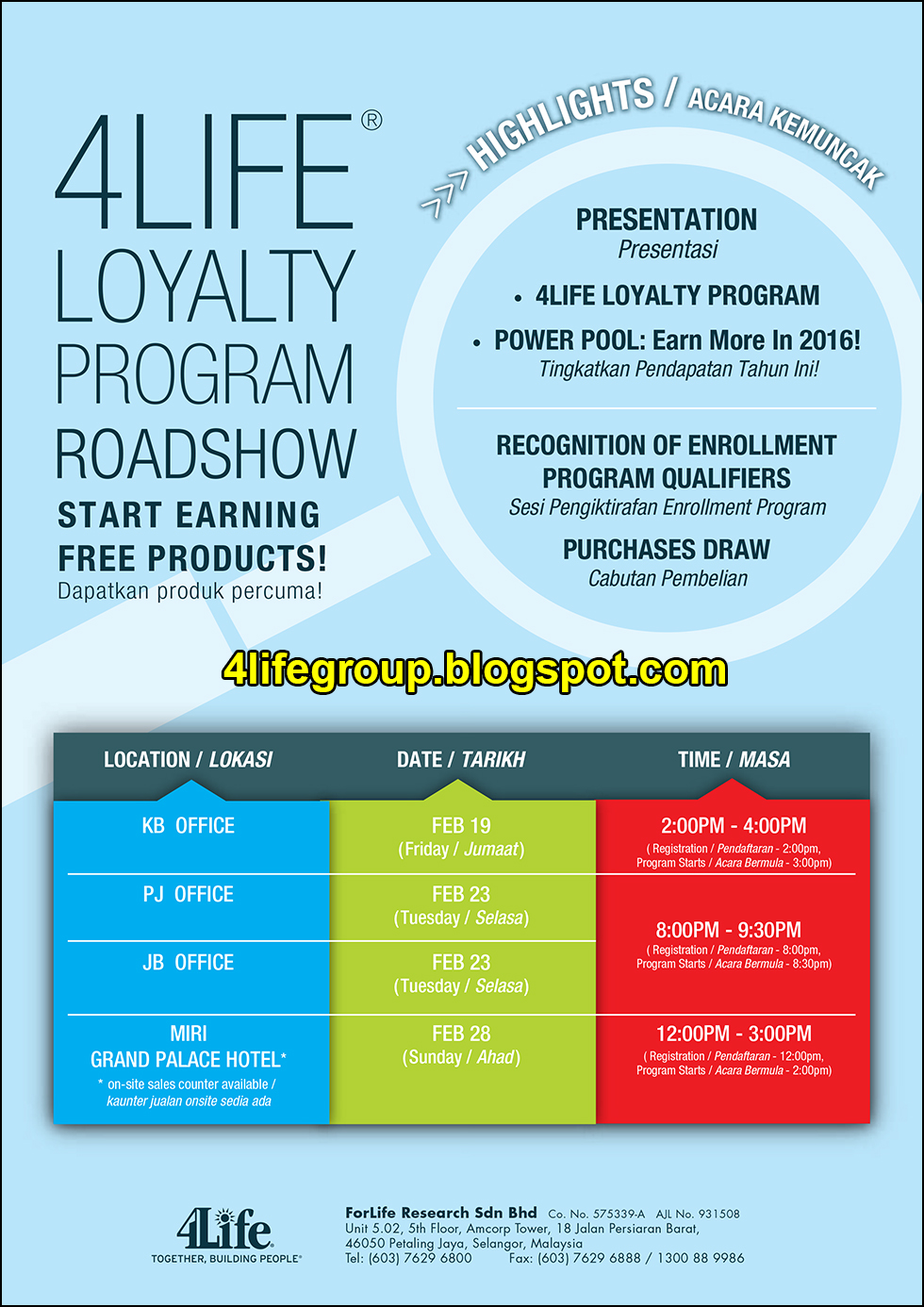 foto 4Life Loyalty Program Roadshow (1)