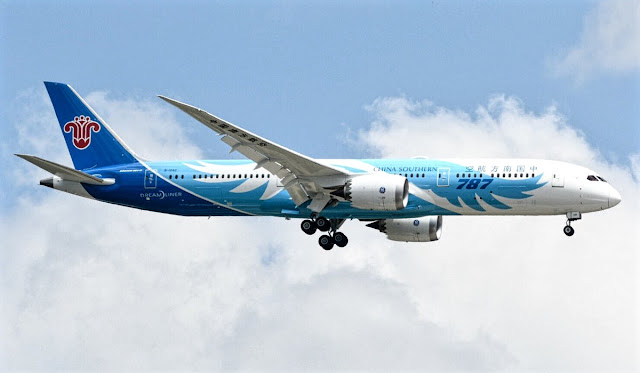 boeing 787-9 china southern airlines