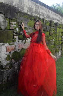 Hunting konsep foto model cantik igo Cinta Rarung model majalah