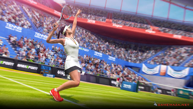 Tennis World Tour v1.13 Gameplay Screenshot 2