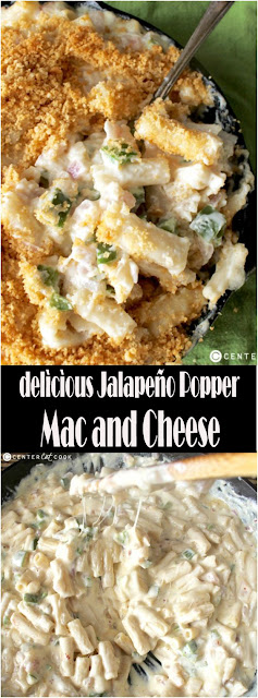 delìcìous Jalapeño Popper Mac and Cheese