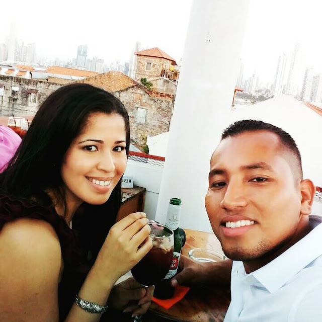Roof top bar, Date with husband
