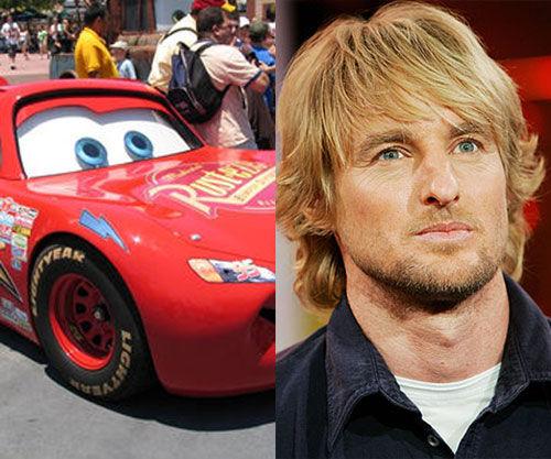 Cars 2 Movie Owen Wilson As Lightning Mcqueen In Cars 2
