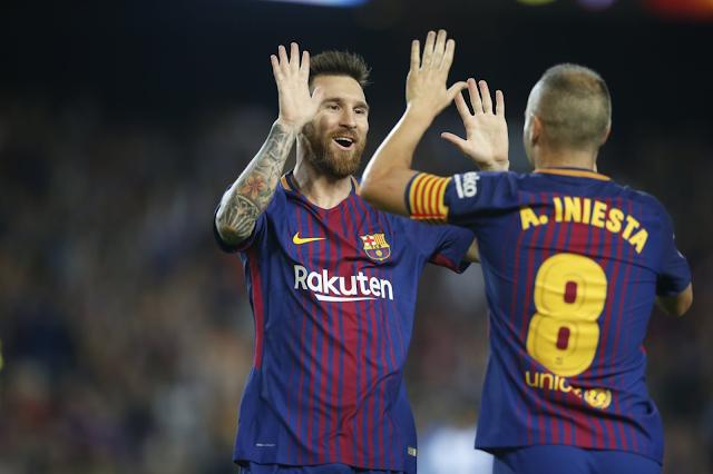 Barcelona venció 2-0 al Málaga