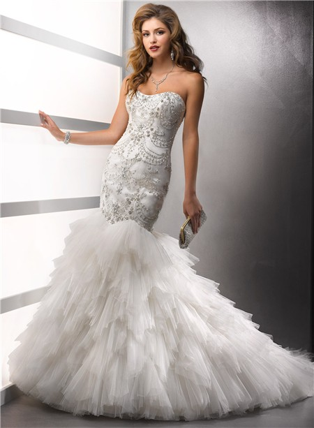 Used Mermaid Wedding Dresses