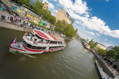 Vienna River Cruise by Laurence Norah