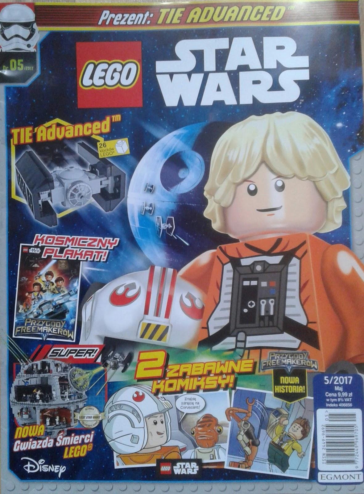 Magazyn Lego Star Wars 52017 Już W Kioskach świat Star Wars