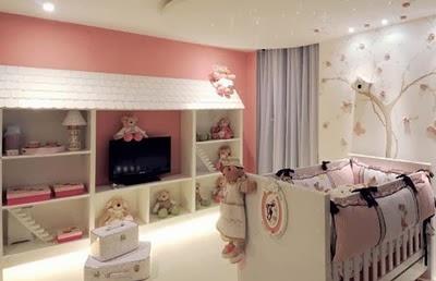Fotos de dormitorios tem ticos para beb s dormitorios for Pegatinas dormitorio bebe