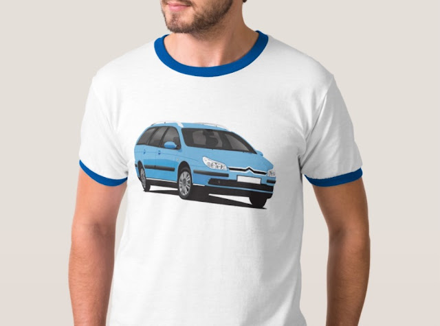 Citroen C5 Break t-shirt