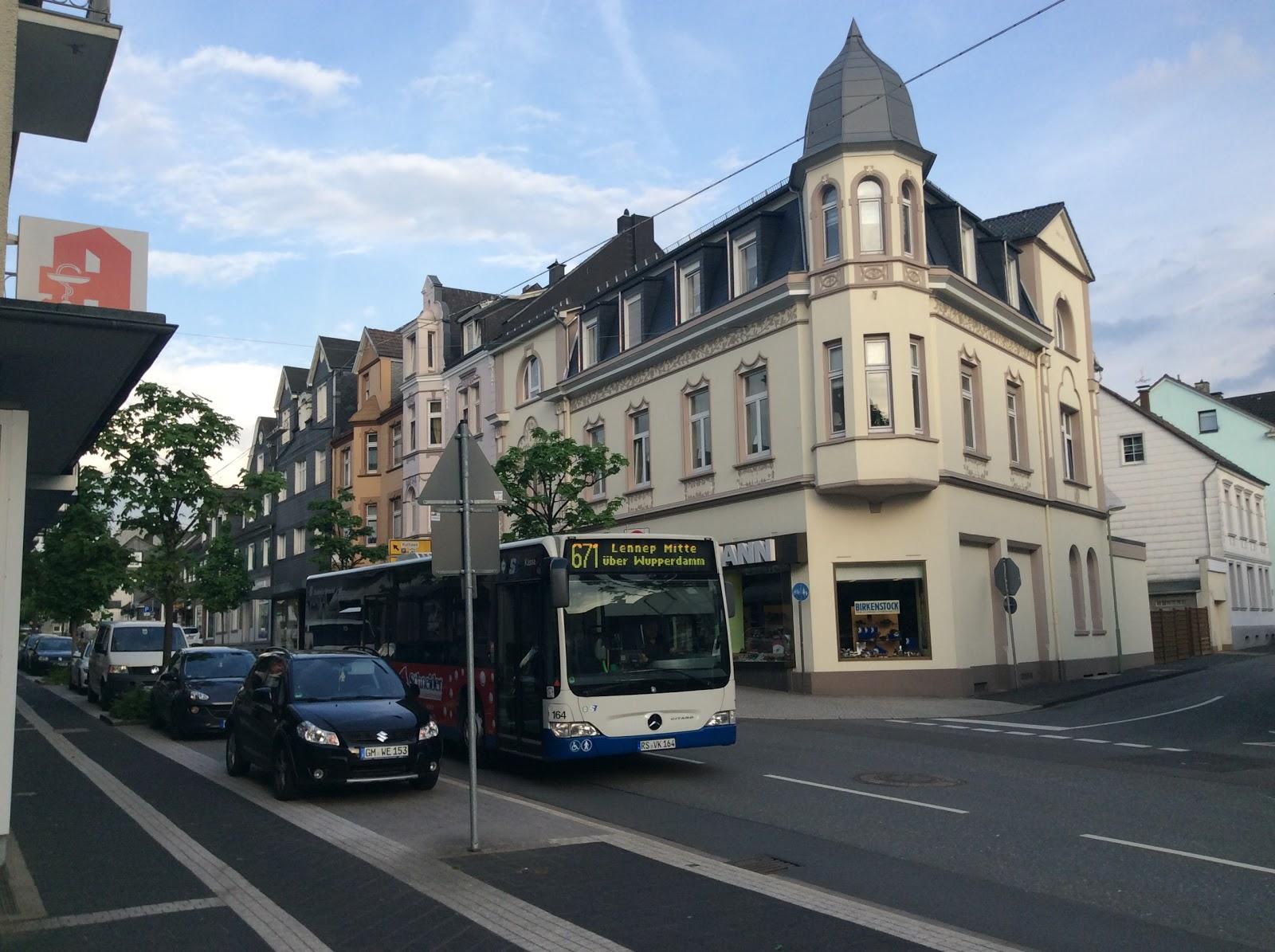 Radevormwald Stadtnetz Ortsbus Statt Schulbus Offener Brief An