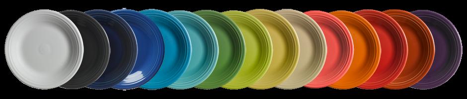 Homer Laughlin Fiestaware The Fiesta Colors   Autos Weblog