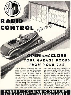 Barcol Radio Control Garage Door Opener