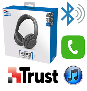 trust cuffie wireless bluetooth 22455