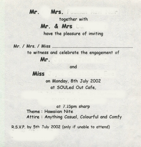 All About Funny Wedding Card Samples