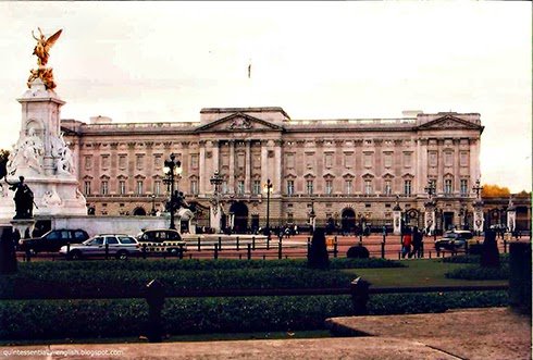 Buckingham Palace in London, England
