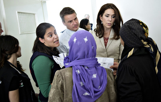 Crown Princess Mary in Jordan