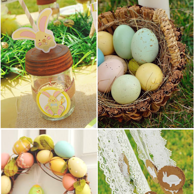 A Sweet Family Brunch Easter Egg Hunt Party