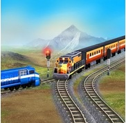 Train Racing Games 3D 2 Player Apk