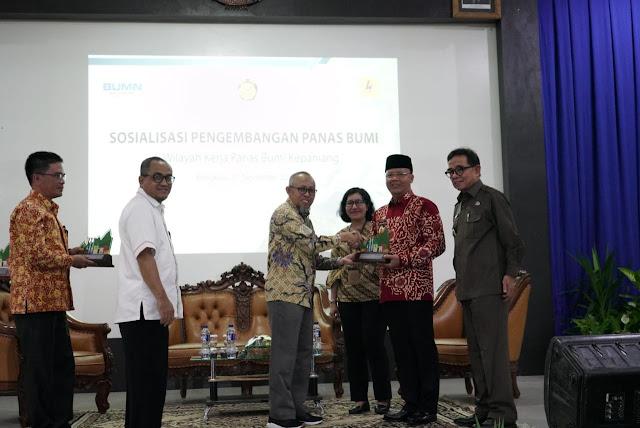 Rohidin Dorong Pemanfaatan Geothermal di Bengkulu