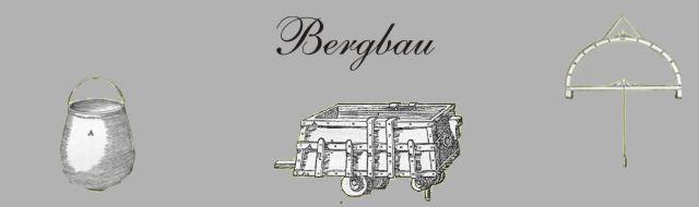 Bild-Werkzeug des Bergmanns aus dem Mittelalter