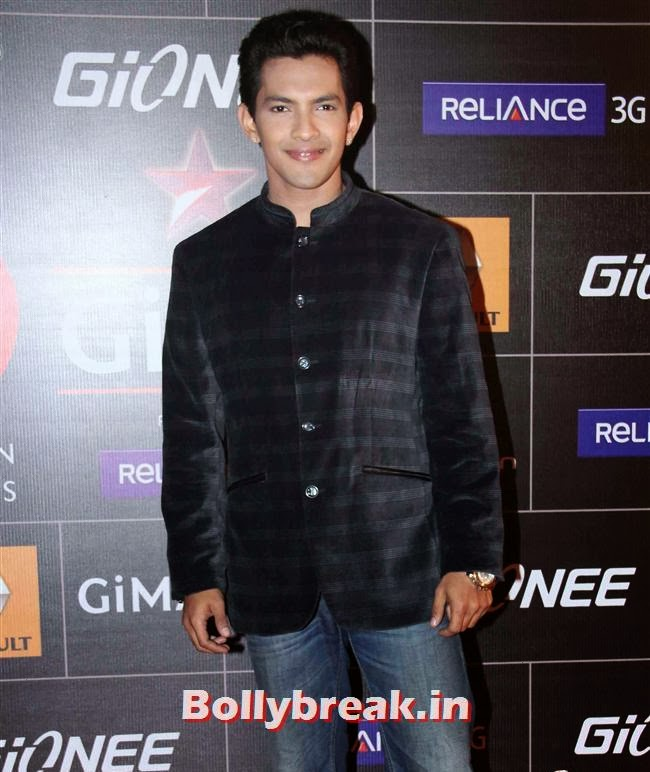 Aditya Narayan, Global Indian Music Awards 2014 Pics