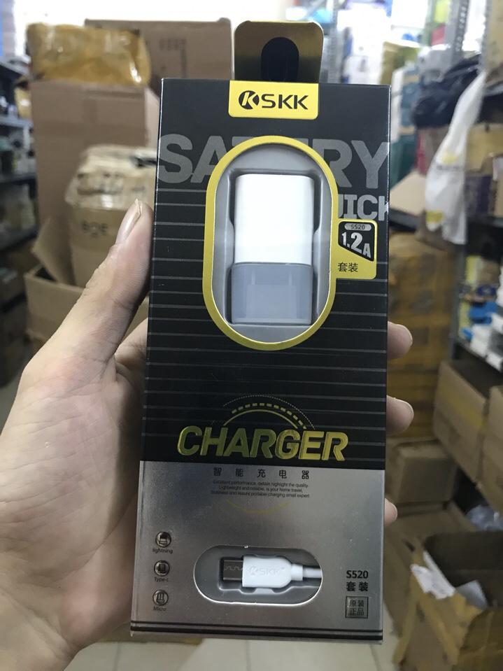 28k - Bộ sạc SKK S520 Micro (Samsung 8600) giá sỉ và lẻ rẻ nhất