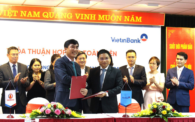 Công ty Hateco ký kết thỏa thuận Hợp tác toàn diện với Vietinbank