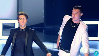 John Newman y Maverick Come And Get It-Final La Voz 2015