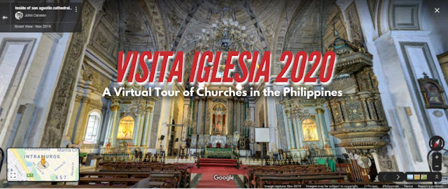 Digital Virtual Visita Iglesia in the Philippines