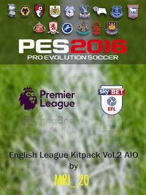 PES 2016 English League Kitpack