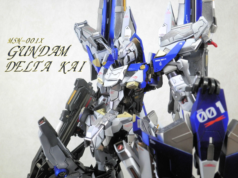 "Custom Build: MG 1/100 Delta Plus ""Gundam Delta Kai Ver"
