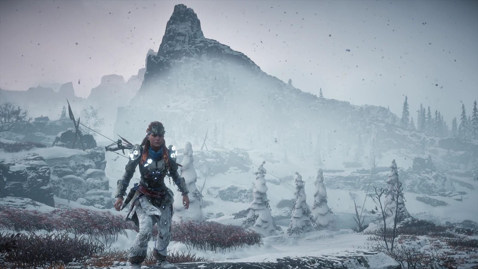 Basta seguir jogando e atingir o nível 60 para conquistar o último troféu  de The Frozen Wilds. PS4 589766c172680