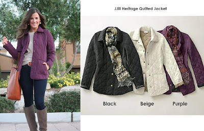JJill Heritage Quulted Jacket
