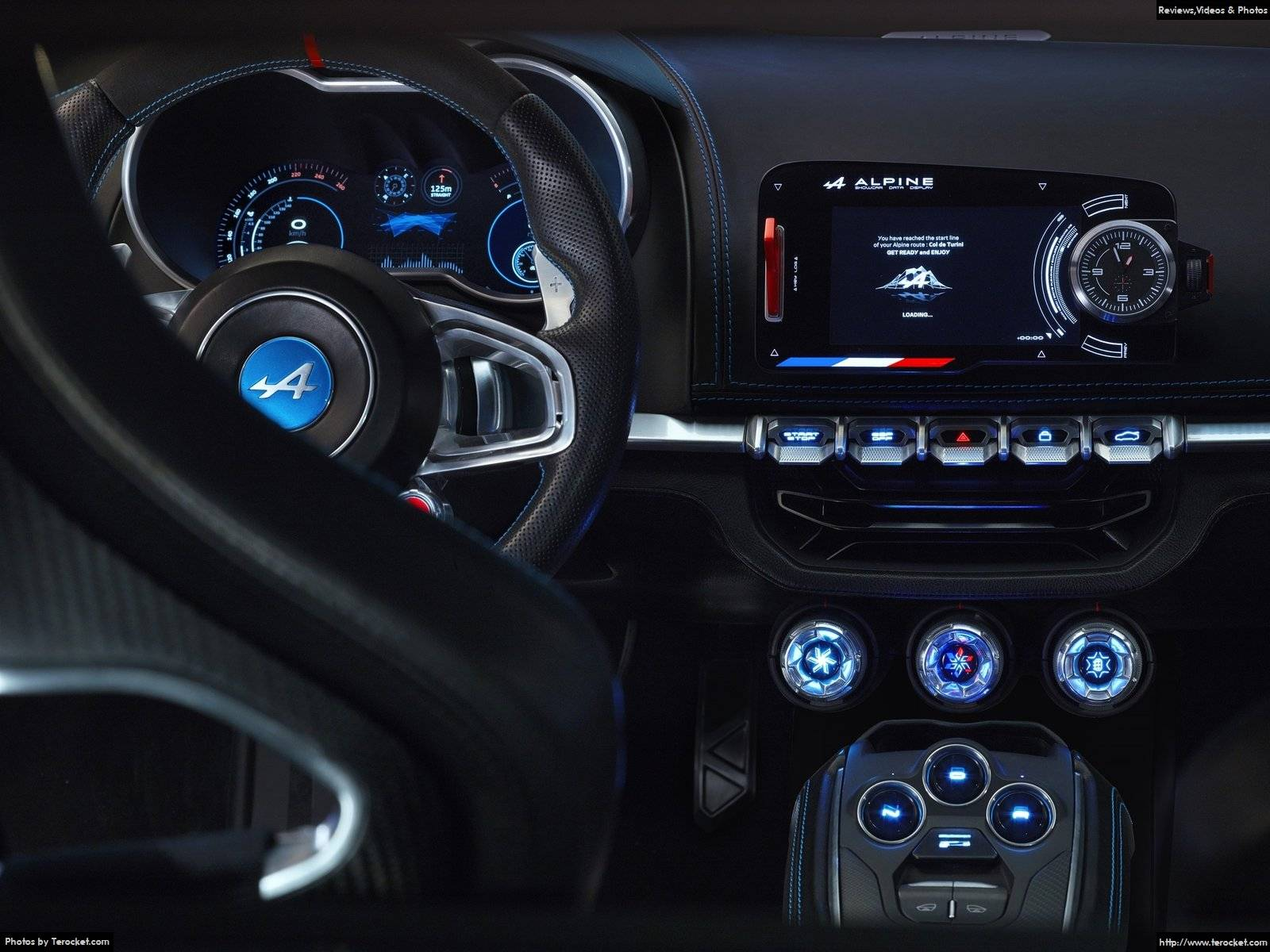Hình ảnh xe ô tô Alpine Vision Concept 2016 & nội ngoại thất