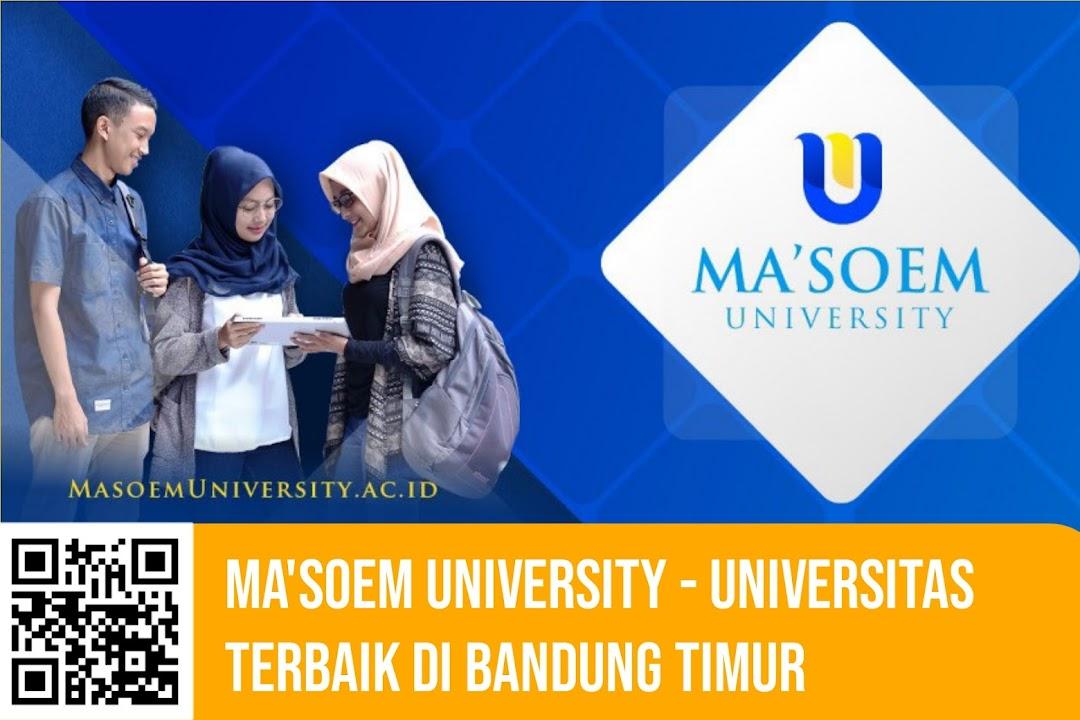 Rekomendasi Tempat Kuliah Terbaik di Bandung Timur - Ma'soem University