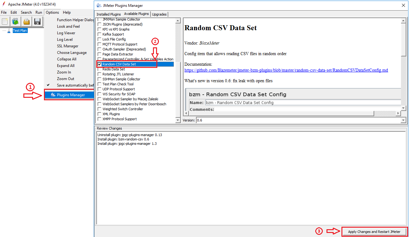 Read Data From A CSV File In Random Order - Apache JMeter