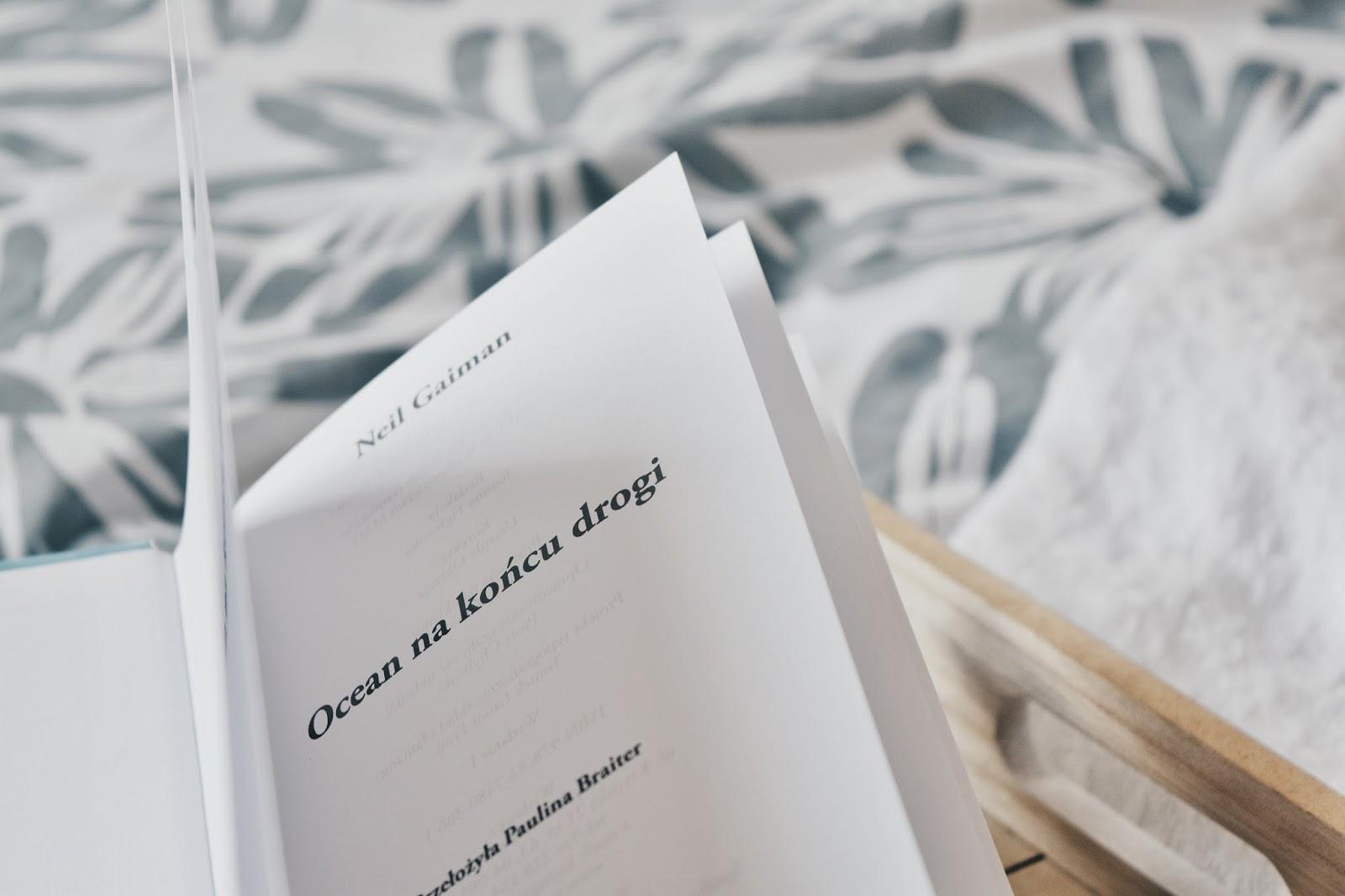 """""""Ocean na końcu drogi"""", czyli drugie spotkanie z N.Gaimanem"""