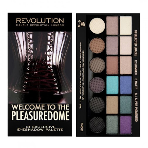 Check out my latest post about Makeup Revolution's Welcome To The Pleasuredome palette. All 18 shadows...